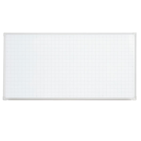 LB2シリーズ ホワイトボード 壁掛けタイプ 暗線入り 幅1800×奥行65×高さ900mm (423-863)【LB2-360SHWG】