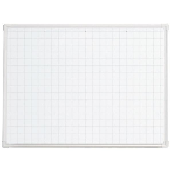 LB2シリーズ ホワイトボード 壁掛けタイプ 暗線入り 幅1200×奥行65×高さ900mm (423-864)【LB2-340SHWG】