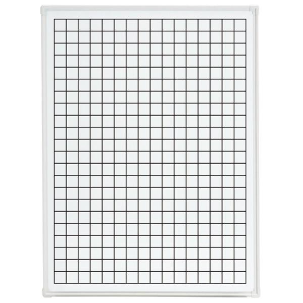 LB2シリーズ ホワイトボード 壁掛けタイプ グラフ方眼 幅900×奥行65×高さ1200mm (423-908)【LB2-430-K050】