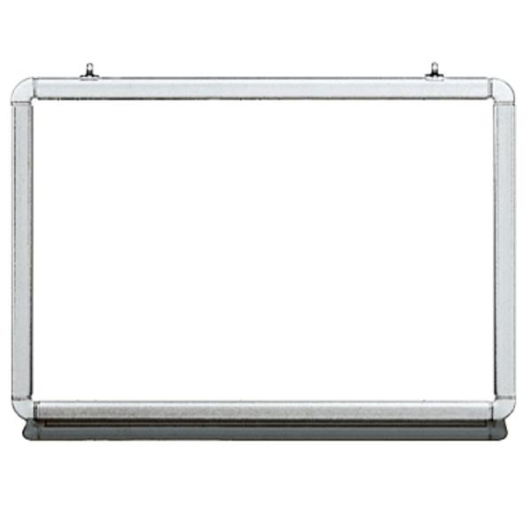 インテルナシリーズ ホワイトボード 壁掛けタイプ  幅940×奥行106×高さ655mm (19-104)【NW2-N23N】