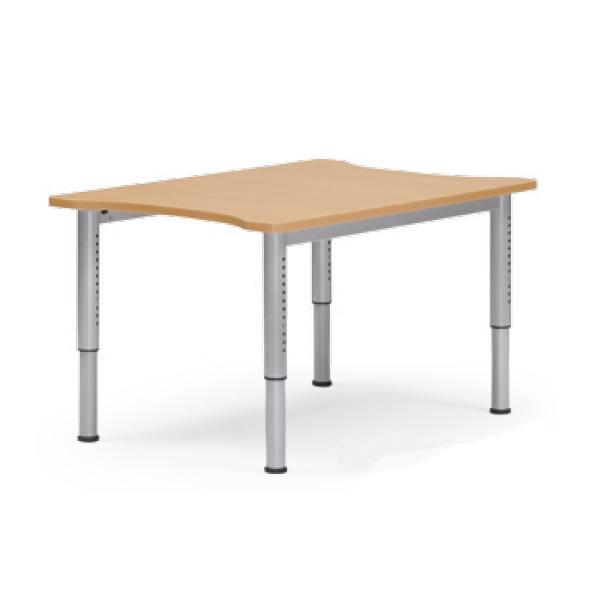 介護用テーブル NJTシリーズ 天板昇降タイプ 幅800×奥行1200mm【NJT-8012-M1】