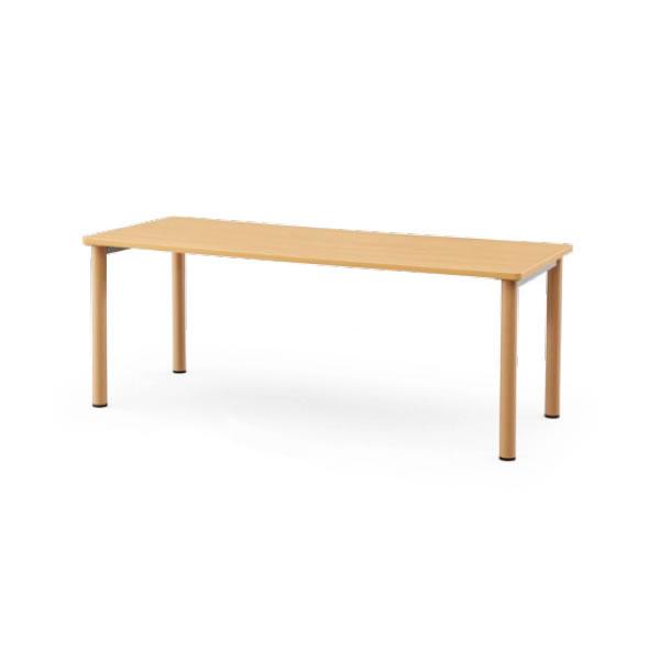 介護用テーブル NSTシリーズ 木目調塗装脚 幅1800×奥行900mm【NST-1890-M1】