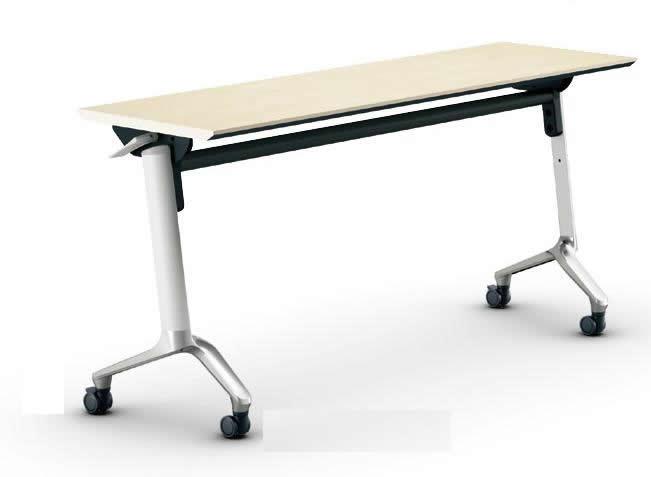 コクヨ コンフェスト フラップテーブル(スタンダードタイプ) パネルなしタイプ 幅2100×奥行600×高さ720mm【KT-S1309M】