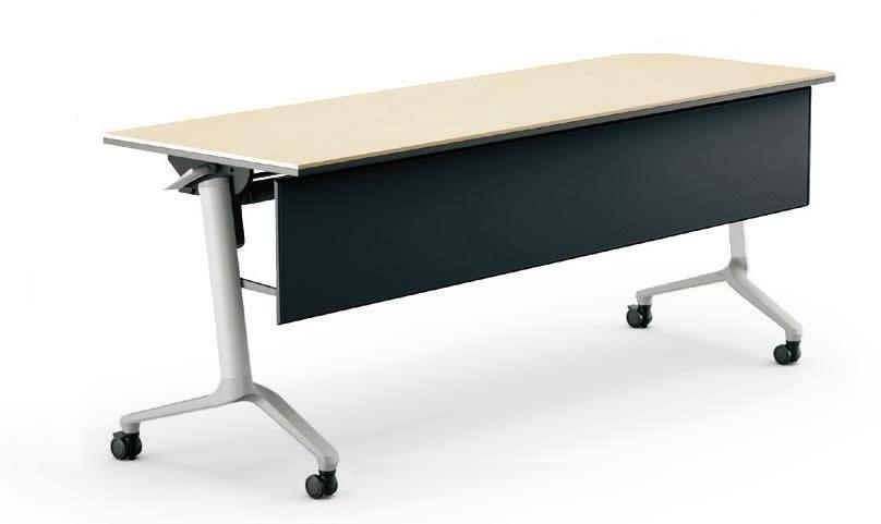 コクヨ コンフェスト フラップテーブル(シンプルタイプ) パネル付きタイプ 幅1500×奥行600×高さ720mm【KT-PS1303L】