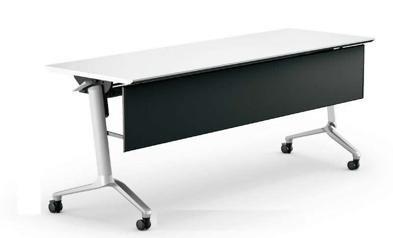 コクヨ コンフェスト フラップテーブル(スタンダードタイプ) パネル付きタイプ 幅1500×奥行450×高さ720mm【KT-PS1302M】