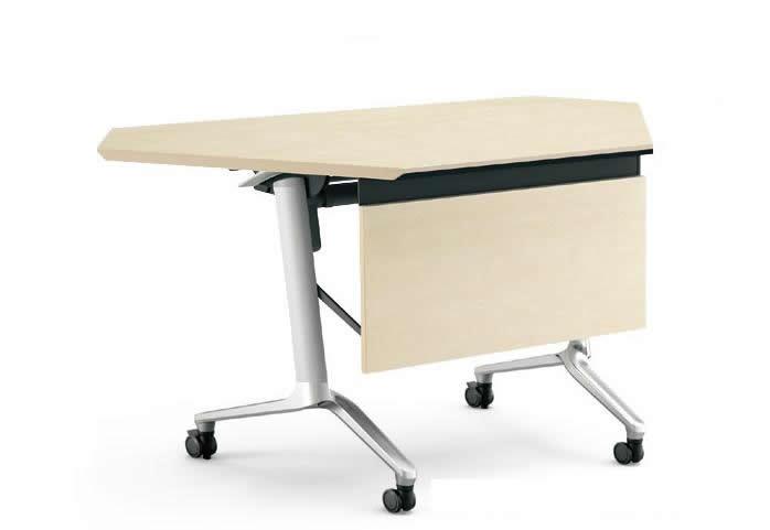 コクヨ コンフェスト フラップテーブル(ハイスペックタイプ) コーナー 奥行600×高さ720mm【KT-PC1301H】