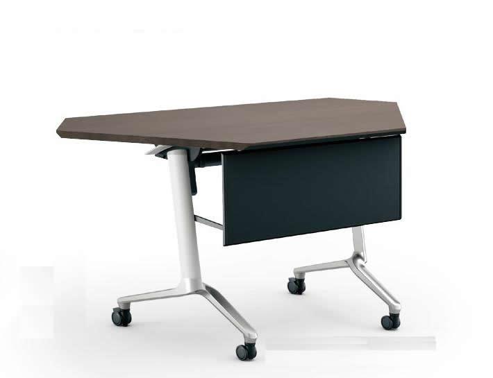 コクヨ コンフェスト フラップテーブル(スタンダードタイプ) パネルなしタイプ コーナー 奥行600×高さ720mm【KT-C1301M】