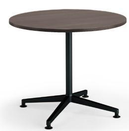 コクヨ ジュート(JUTO) ミーティング用テーブル(単柱脚・円形天板) ポリッシュ脚 φ900×高さ720mm【MT-JTJE9P】