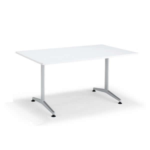 コクヨ ジュート(JUTO) ミーティング用テーブル(T字脚・角形天板) 塗装脚 幅2100×奥行1000×高さ720mm スクエアエッジ【MT-JTT211】