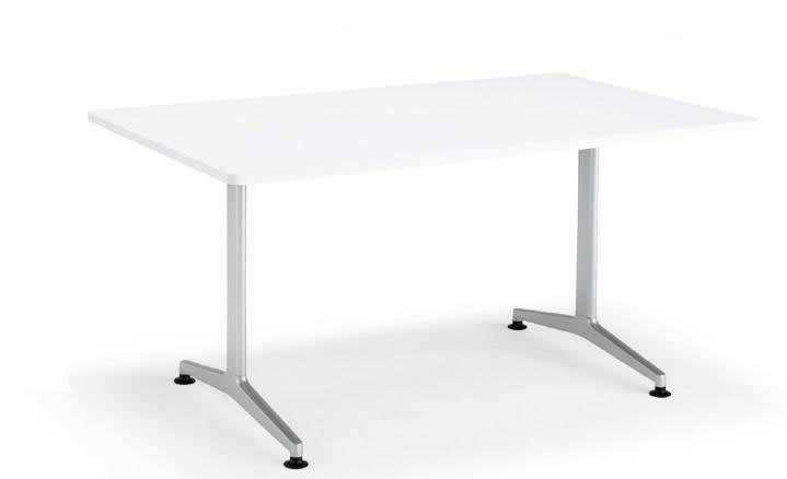 コクヨ ジュート(JUTO) ミーティング用テーブル(T字脚・角形天板) 塗装脚 幅1200×奥行750×高さ720mm ラウンドエッジ【MT-JTTR127】