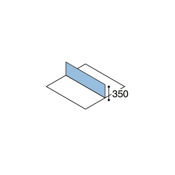 ワークフィット オプション デスクトップパネル 両面用 幅2400mm【SDV-WF243】