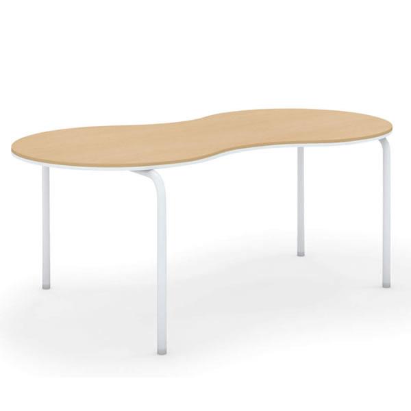 コクヨ ミュートス2 Muitos2 ひょうたんテーブル アジャスタータイプ 幅1600×奥行800×高さ700mm【SST-MUH168H-A】