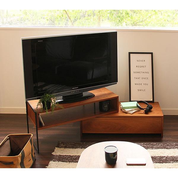 【anthem・アンセム】TV Board/ テレビボード BR(ブラウン)【IC-ANK-2392BR】