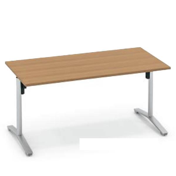コクヨ ビエナ VIENA 配線ボックスなし 角形テーブル(T字脚) ポリッシュ脚タイプ 幅1200×奥行750×高さ720mm【MT-V127PM】