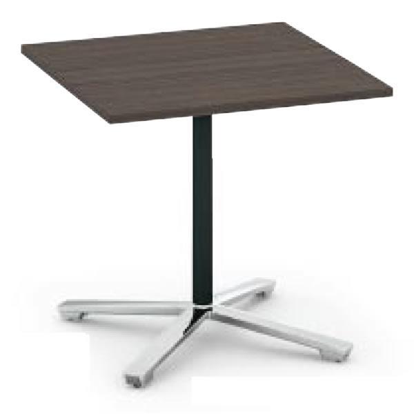 コクヨ ビエナ VIENA 正方形テーブル(単柱脚) ポリッシュ脚タイプ 幅900×奥行900×高さ720mm【MT-V99PM】