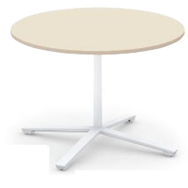 コクヨ ビエナ VIENA 円形テーブル(単柱脚) ポリッシュ脚タイプ 幅1050×奥行1050×高さ720mm【MT-VE10PM】