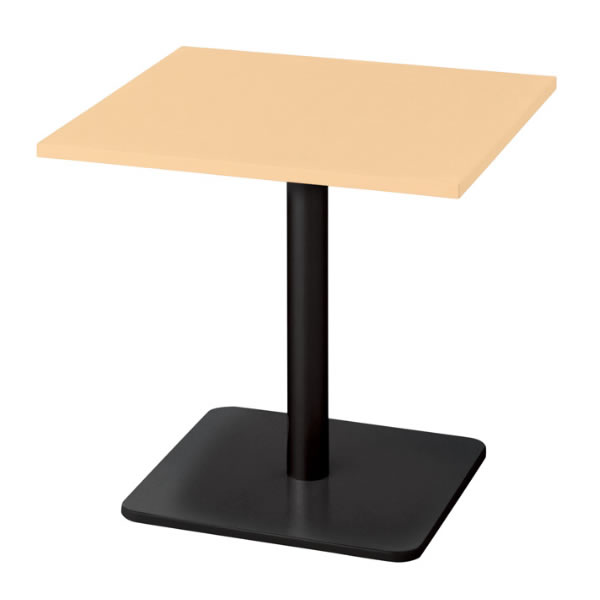 ronna ロンナ テーブル 正方形 ベース脚タイプ ミドルポジション 幅750×奥行750×高さ720mm【NN-0707BS】
