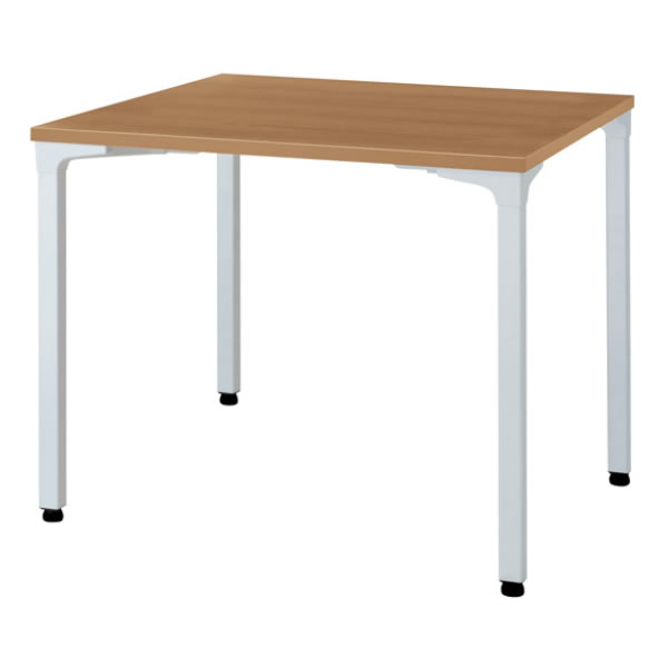 ronna ロンナ テーブル 正方形 4本脚アジャスタータイプ 幅900×奥行900×高さ720mm【NN-0909PAS】