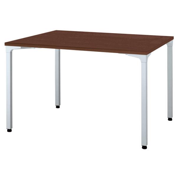 ronna ロンナ テーブル 長方形 4本脚アジャスタータイプ マホガニー色天板 幅1200×奥行900×高さ720mm【NN-1209PAR-LM】