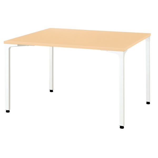 ronna ロンナ テーブル 正方形 4本脚アジャスタータイプ 幅1200×奥行1200×高さ720mm【NN-1212PAS】