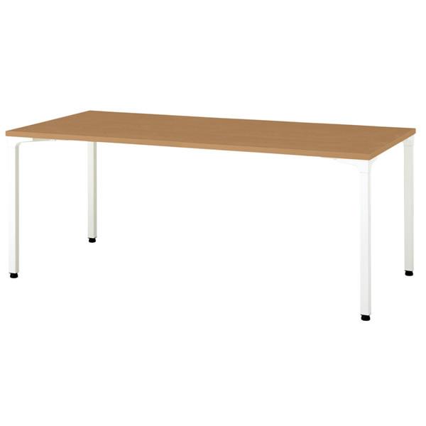 ronna ロンナ テーブル 長方形 4本脚アジャスタータイプ 幅1800×奥行900×高さ720mm【NN-1809PAR】