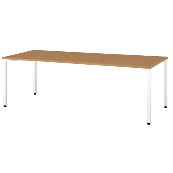 ronna ロンナ テーブル 長方形 4本脚アジャスタータイプ 幅2100×奥行1000×高さ720mm【NN-2110PAR】