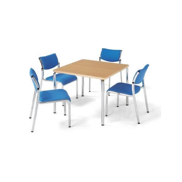 ミーティングテーブル・会議テーブル/ ARテーブル 【角型 幅750×奥行き750mm】【AR-750K-M1】