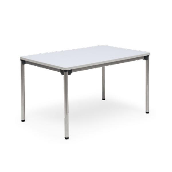 ミーティングテーブル・会議テーブル/ ASテーブル 【幅1200×奥行き750mm・棚なし】【AS-1275-M1】