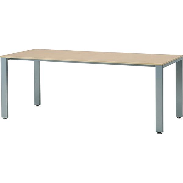 【HTS】ミーティングテーブル(ホワイト脚) 幅1800mm×奥行900mm【HTS-W1890】