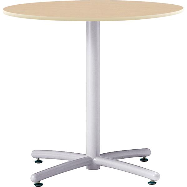 【HTS】ミーティングテーブル(ホワイト脚) 丸型 直径750mm【HTS-W750M】