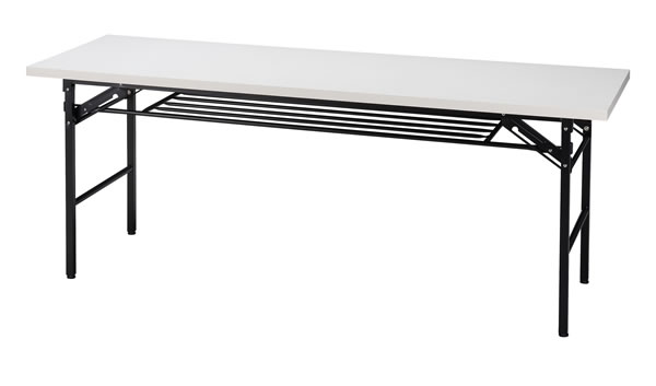 折りたたみ机(長机) 1800×600mm ホワイト色【HW-KH1860TW】
