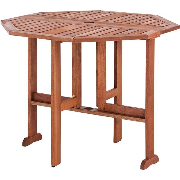 【ルチアーノ】屋外用折りたたみテーブル【HWA-T6】