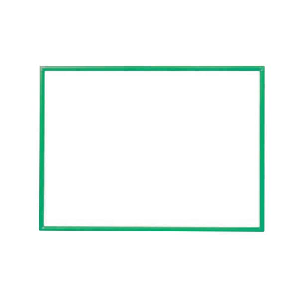 クリーンボード Bタイプ ホワイトボード ホーロータイプ カラーバリエーション 1200×900mm【RBH34】