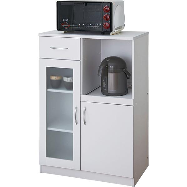 【ビアンコ】キッチンキャビネット ダイニングボード【SK9765-WH】