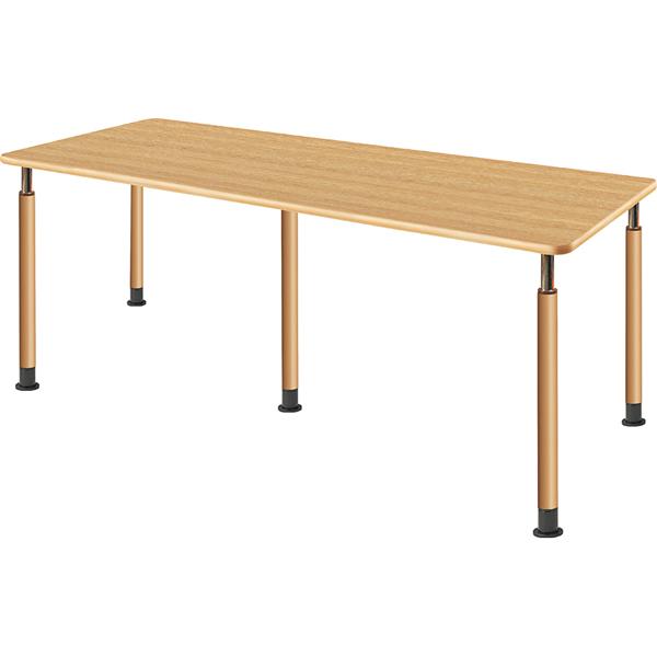 昇降式テーブル 5本脚 幅1800×奥行750mm【UFT-5T1875-□-L】