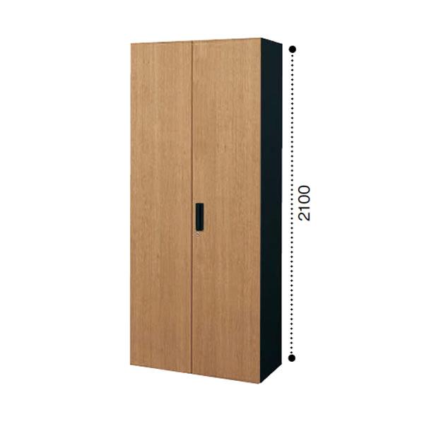 【最大3年保証】コクヨ エディア 収納システム 高さ2100mmタイプ 下置き 多人数ロッカー 木目タイプ 本体色ブラック 幅900×奥行450×高さ2100m【BWU-R89F6D】