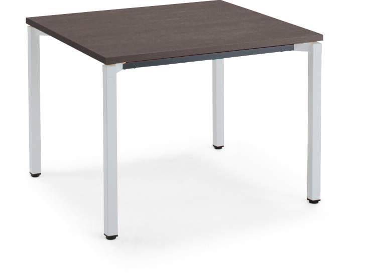 コクヨ ジュート(JUTO) ミーティング用テーブル(4本脚 角脚・正方形天板) スクエアエッジ 幅900×奥行900×高さ720mm【MT-JTK99】