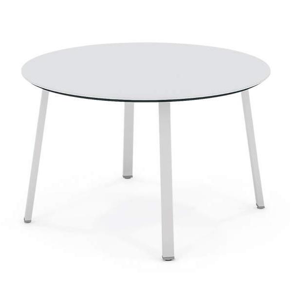 コクヨ SAIBI-TX(サイビティーエックス) 会議用テーブル サークルタイプ 木目天板 幅1200×奥行1200mm【SD-TK12V】