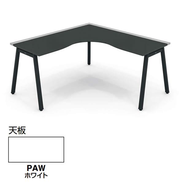 コクヨ SAIBI-TX(サイビティーエックス) L型テーブル ホワイト天板 幅1600×奥行1600mm【SD-TL1616V-PAW】