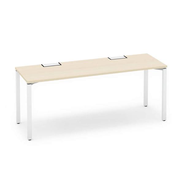 ワークフィット スタンダードテーブル 片面タイプ 幅1800×奥行600 アジャスター脚【SD-WFA186】