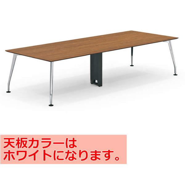 コクヨ SAIBI(サイビ) ミーティングテーブル スクエアタイプ(2連) 配線なし 塗装脚 ホワイト天板 幅3200×奥行1200mm【SD-XK3212AS81PAW】
