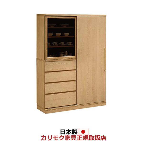 カリモク 食器棚 幅1346mm 高さ1909mm【EU4650】