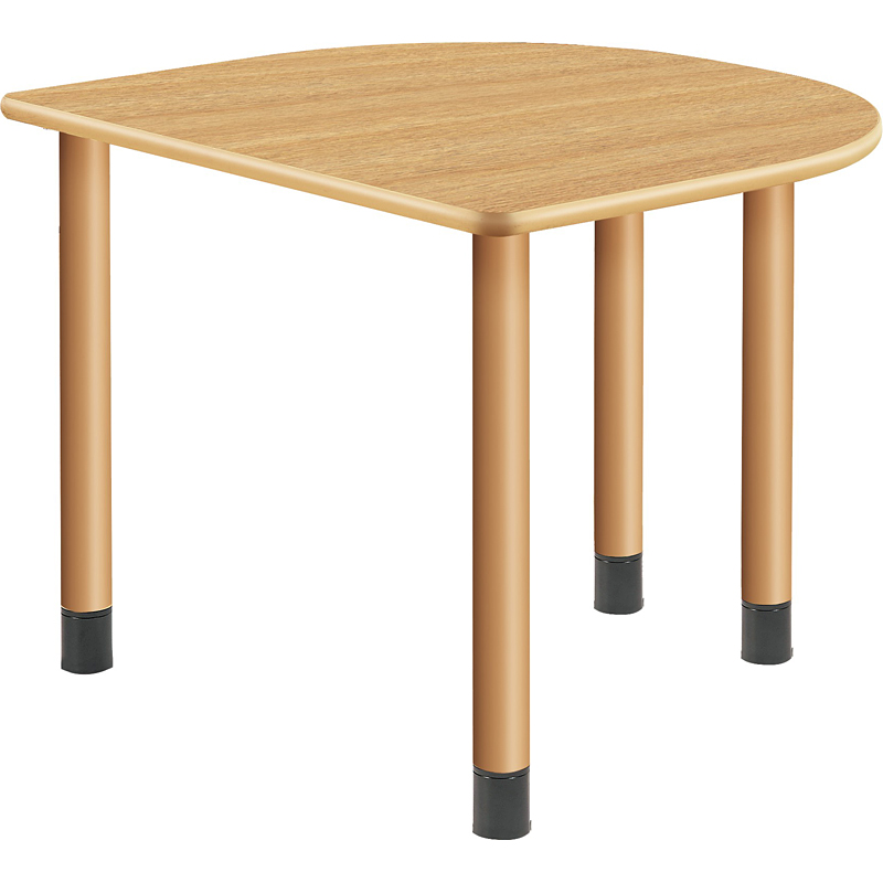 医療・福祉施設向けテーブル サイドテーブル 幅900×奥行き800×高さ656~736mm ※高さ3段階調節可能【UFT-4K9080H】