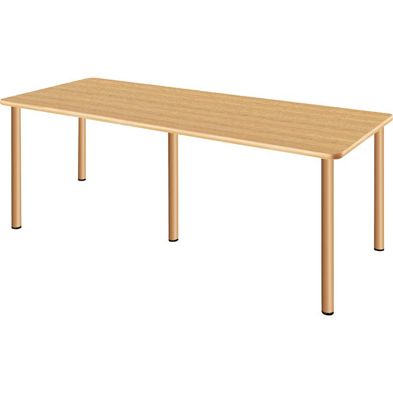 医療・福祉施設向けテーブル 幅1800×奥行き750×高さ700mm ※オプションで高さ変更可能【UFT-5S1875】