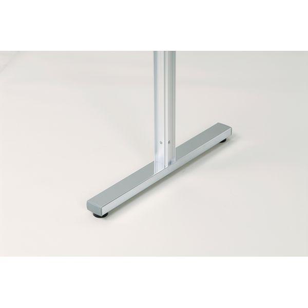 アルミポール脚(48mm角) AR連結ボード用 4面用 アジャスタータイプ 高さ1800mm用【AR48T18B4】