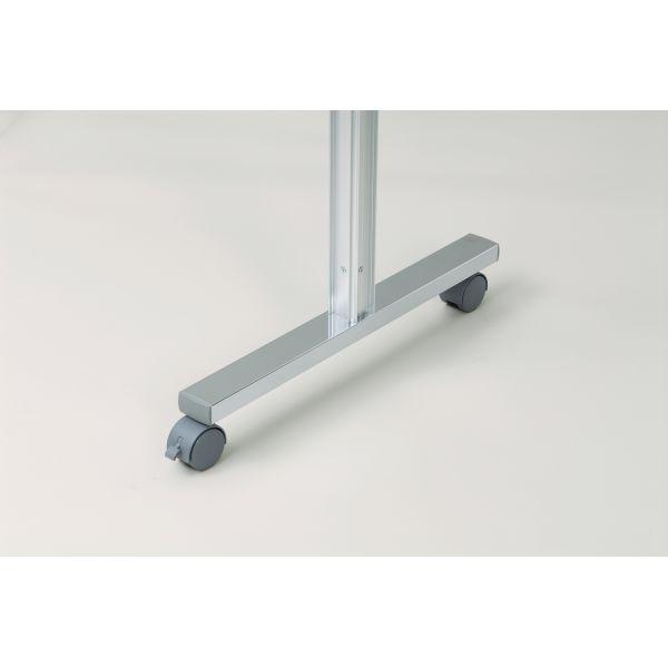 アルミポール脚(48mm角) AR連結ボード用 4面用 キャスタータイプ 高さ1800mm用【AR48T18C4】