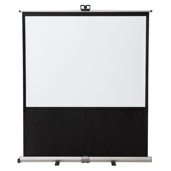 EMSモバイル型床置きスクリーン(16:10) 80インチ【EMS80W】