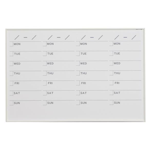 MRシリーズ ホワイトボード スケジュール 曜日 910×610mm【MR23S】