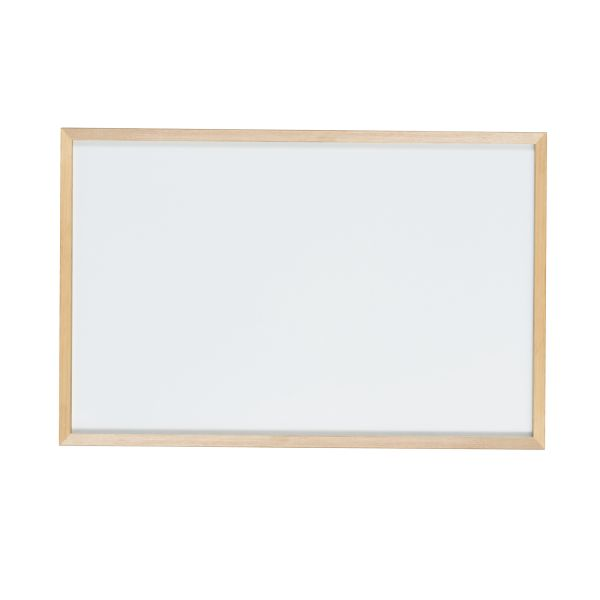 木枠ボード ホーローホワイトボード 900×600mm【WOH23】