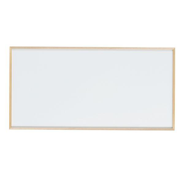 木枠ボード ホーローホワイトボード 1800×900mm【WOH36】